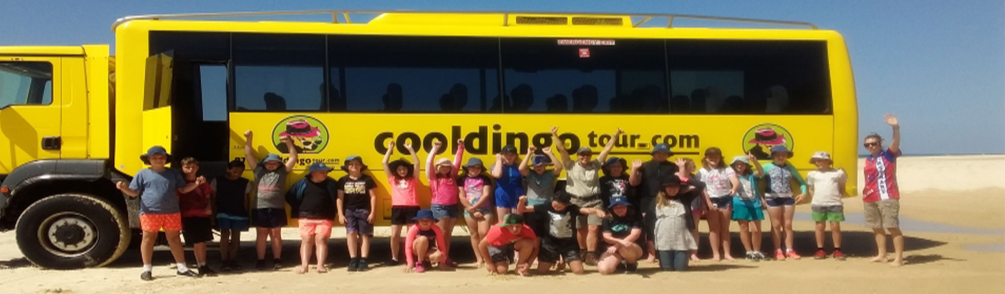 students at Fraser Island